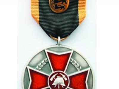 Ehrenmedaille des LFV Baden-Württemberg in Silber
