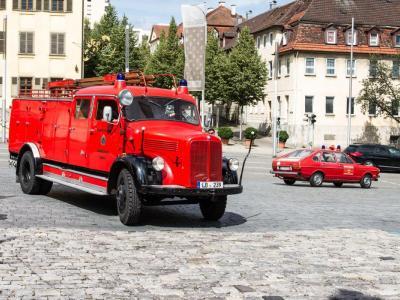 Tanklöschfahrzeug 16 (Baujahr 1958), Feuerwehr Ludwigsburg