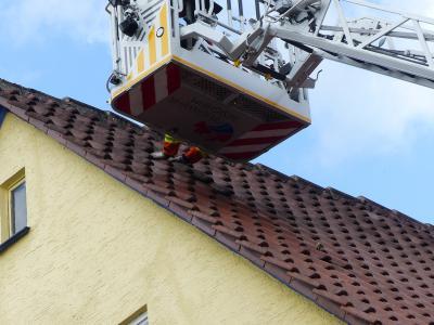 H0 Sicherungsarbeiten >3m Höhe - Mundelsheim Heinrich-Maulick-Straße - 10.03.2019