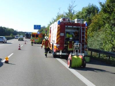 H1 VU Personenschaden PKW - BAB 81 Mundelsheim >> Leonberg - 28.09.2020